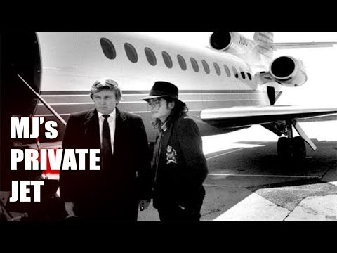 ABANDONED Michael Jacksons Millionaire Private Jet (His Stuf