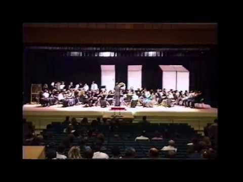 South Jones High School Concert Band Spring 1992  (Warm Up Chorale)