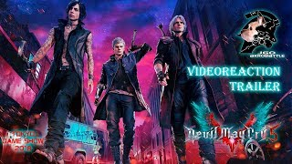 Devil May Cry 5 (V) Tokyo Game Show 2018 VideoReaction TrailerS