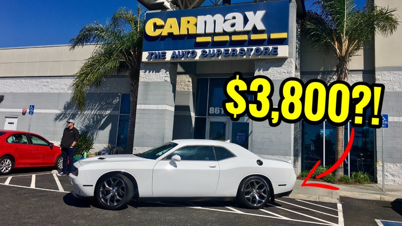 My Dodge Challenger Rt Was Low Balled At Carmax Youtube