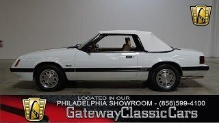 1985 Ford Mustang, Gateway Classic Cars Philadelphia - #039