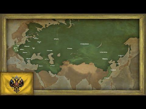 EU4 - Timelapse - Tsardom of Russia