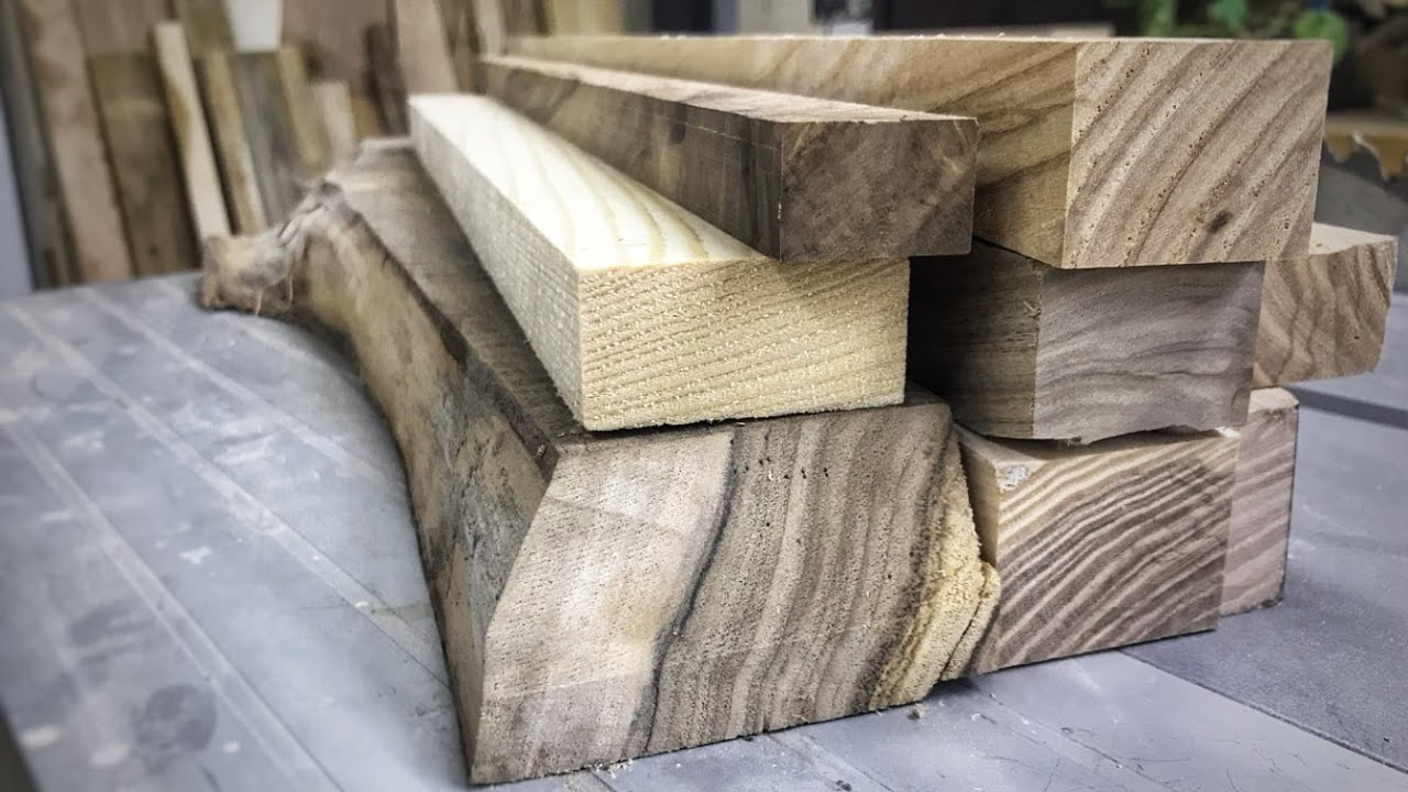 Download Waste to a cool woodworking project.