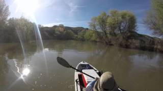 kayaking from verde river to horseshoe lake with the ascend h12 part 2