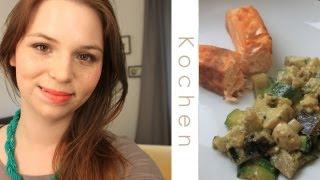 Lachs Mit Ratatouille Gemüse Und Feta- Pesto