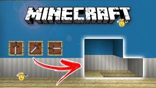 ⭐️Como fazer Passagem Secreta Minecraft PE/PC/PS4/Xbox