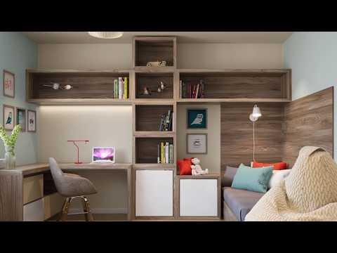 Обзор проекта  Дизайн квартиры 90 м2 Новосибирск