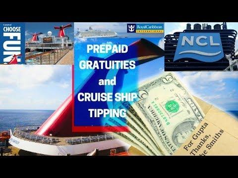 Cruiseline Gratuity & Tipping Comparisons