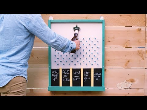 DIY Network Editorial: How to Make a Bottle Cap Game