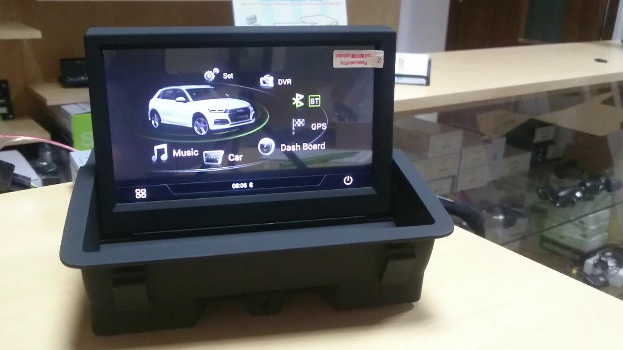 Navigatie Audi A1 Q3 2011 2017 Cu Sistem Android Youtube