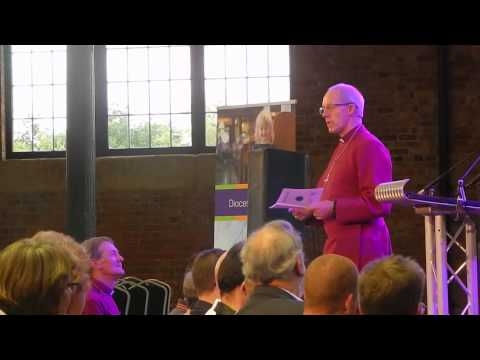 Welcoming The Stranger: Justin Welby's Talk