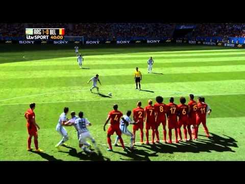 Lionel Messi vs Belgium (FIFA World Cup 2014) HD 720p [SPECIAL EDITION]