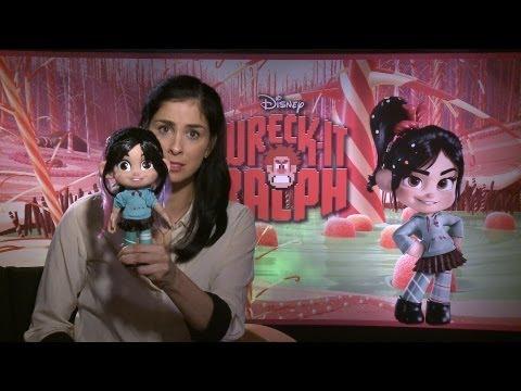 Sarah Silverman Talks 'Wreck-it Ralph'