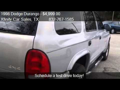 1998 Dodge Durango SLT 4WD - for sale in Houston, TX 77008