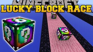 Minecraft: EPIC SPIRAL LUCKY BLOCK RACE - Lucky Block Mod - Modded Mini-Game
