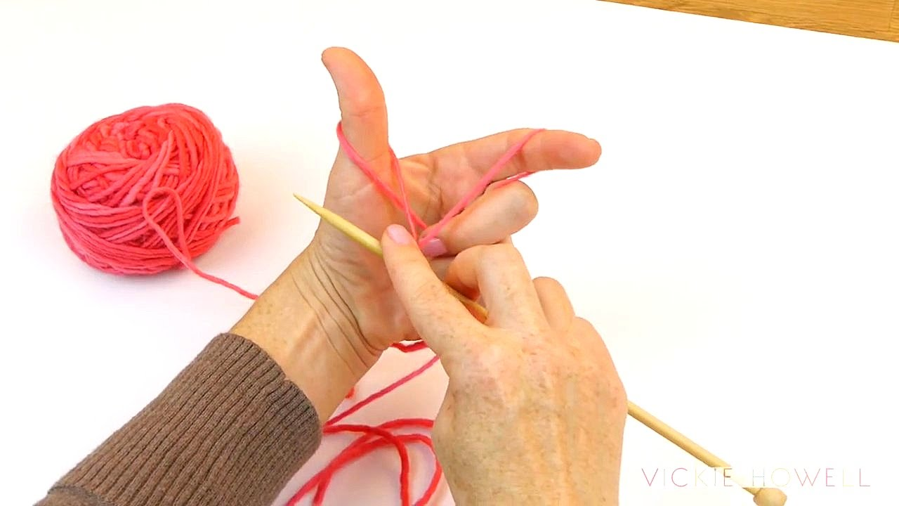 Knitting Long Tail Cast On Circular : How to long tail cast on knitting youtube