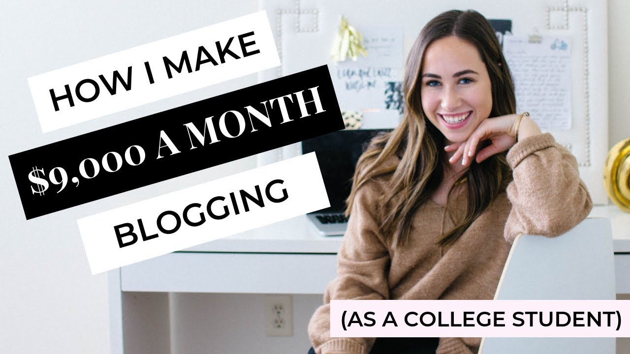 How To Start A Blog | How I Make Over $9,000 A Month Blogging