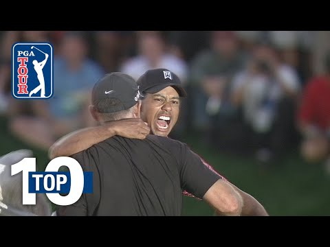 Tiger Woods' top 10 shots at Bay Hill