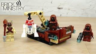 [Обзор] LEGO 75198 Star Wars ● Боевой набор Татуина