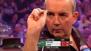 GREATEST DARTS MATCH EVER - Lewis vs Taylor 2013 HIGHLIGHTS