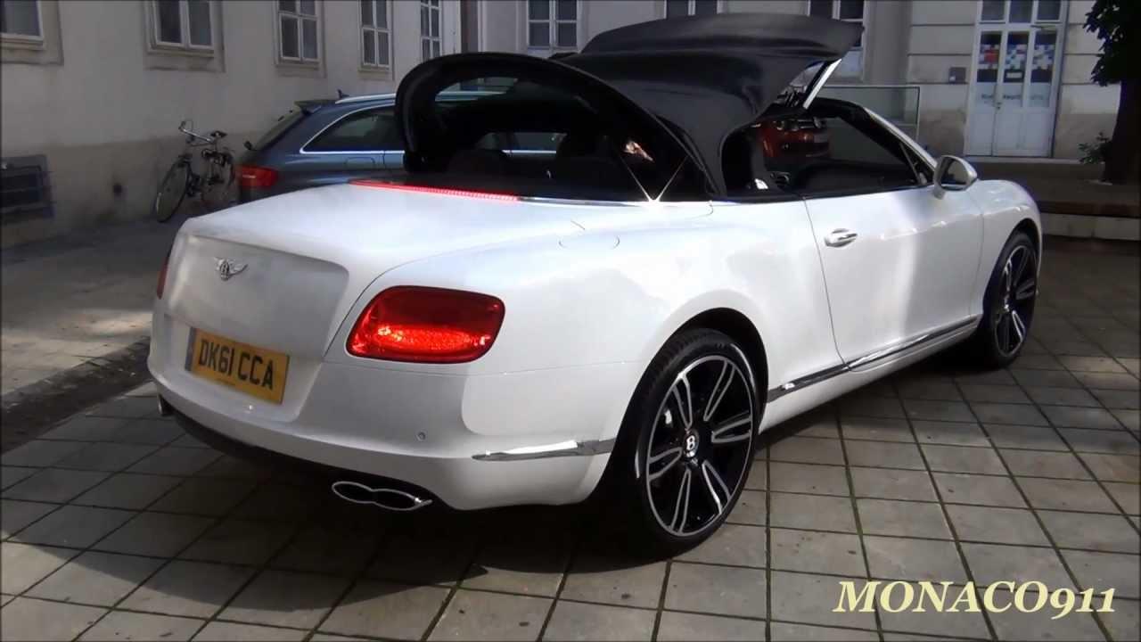 Bentley Gtc V8 Sound Amp Roof Porsche Boxster 981 Rs4
