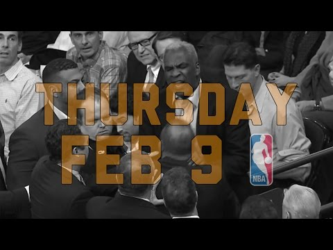 NBA Daily Show: Feb. 9 - The Starters