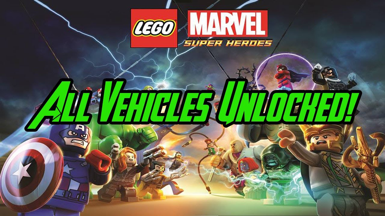 LEGO Marvel Super Heroes - All Vehicles Unlocked! - YouTube