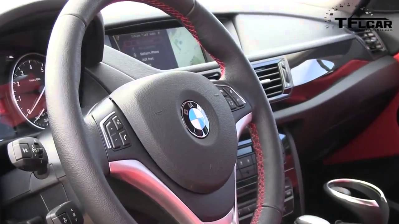 2013 BMW X1 xDrive 35i 060 MPH Drive and Review  YouTube