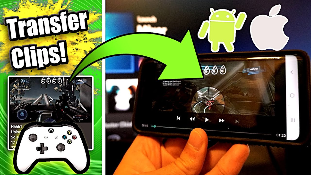 how to download xbox clips on iphone
