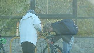Эксперимент с кражей велосипеда