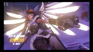 [Overwatch]POTG Mercy ชุบ4ก็แพ้อยู่ดี