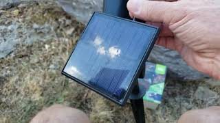 NOMA Emergency Solar Spot Light video review by Andy