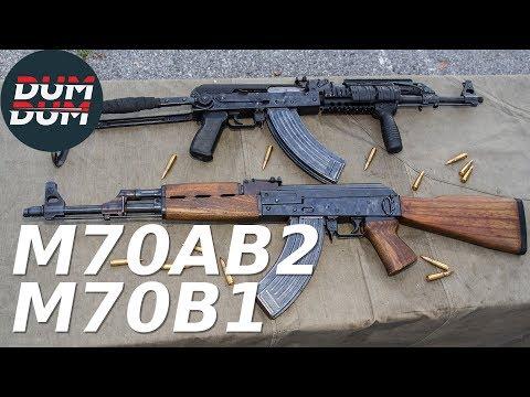 Zastava M70AB2 i M70B1 opis puške (gun review, eng subs)
