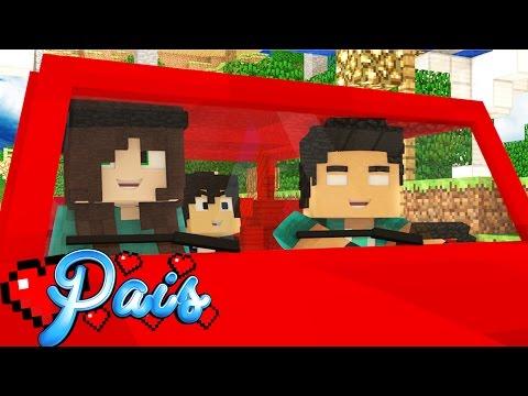 Minecraft : FÉRIAS EM FAMÍLIA!! ( Minecraft Pais) #1