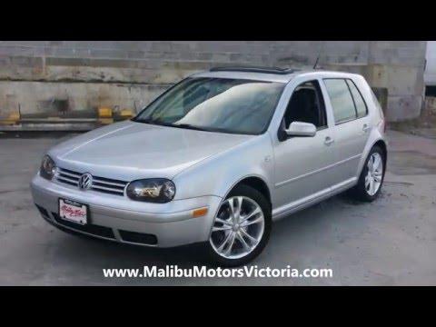 2001 Volkswagen Golf TDI TURBO DIESEL Malibu Motors Victoria