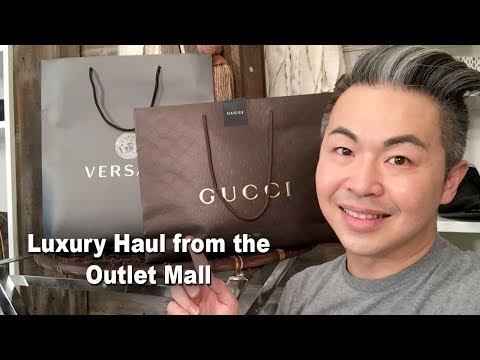 Luxury Shopping at the Outlet Mall