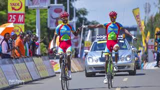 Eritrea Gold Mining at 2018 African Continental Championships RR - Eritrean Cyclists Champions