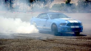 How to Drive Stick and Burn Rubber in the Shelby GT500! - Wide Open Throttle Episode 32