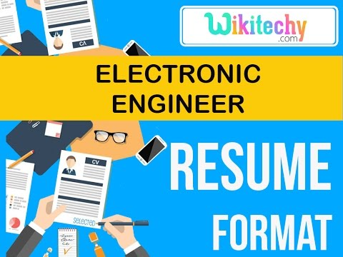 resume electronic engineer resume sample resume resume