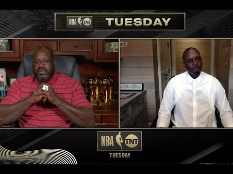 Shaq and Penny Hardaway Reunite | NBA on TNT Tuesday