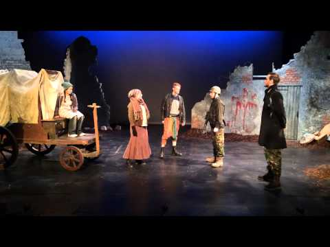 MOTHER COURAGE by Bertolt Brecht - Scene 1