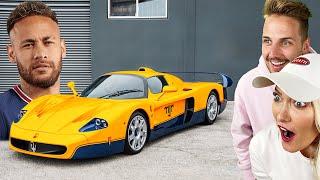 Neymar 's Surprising Car Collection