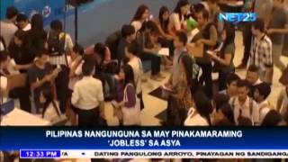 Philippines tops jobless list in Asia