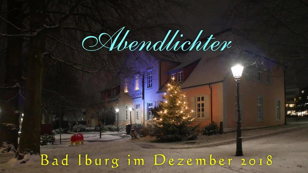 Weihnachtsmarkt Bad Iburg.Abendlichter Bad Iburg Im Dezember 2018 Osnabrücker Land