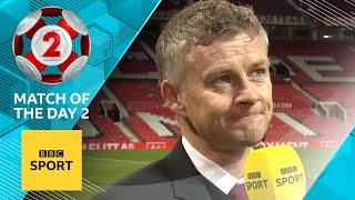 Solskjaer Explains Manchester United Tactics Vs Liverpool  Match Of The Day 2