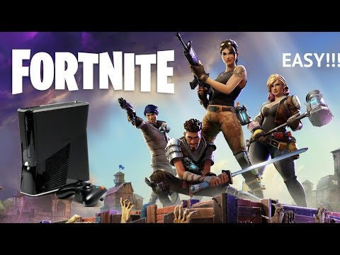 How to get Fortnite on xbox 360 and PS3!! (EASY)