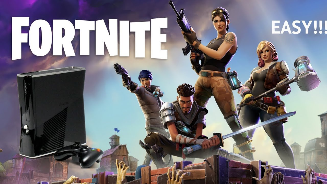 How To Get Fortnite On Xbox 360 And Ps3 Easy Youtube