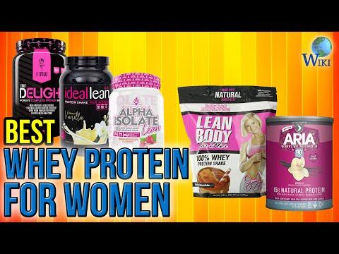 10 Best Whey Protein For Women 2017