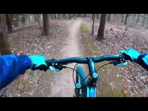 Indian Camp Creek Mountain Bike MTB Trail Ride Trek Superfly 100 Pro