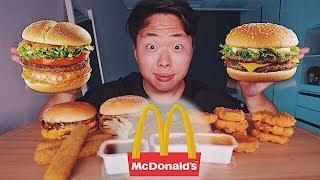 Корейский McDonald's! МУКБАНГ